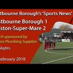 'Sports News': Eastbourne Borough 1 v 2 Weston-Super-Mare – National League South Report