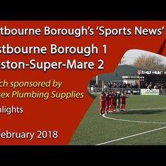 'Sports News': Eastbourne Borough 1 v 2 Weston-Super-Mare – National League South Report