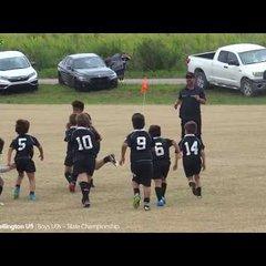 Okapi Wanderers Rugby FC U9 vs Wellington Wizards Rugby highlights 04 21 2018