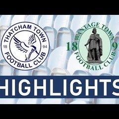 Thatcham Town Development vs Wantage Town Development | Highlights