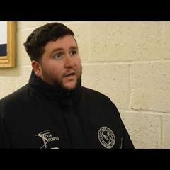 Thatcham Town FC vs Lydney Town AFC - Danny Robinson Interview