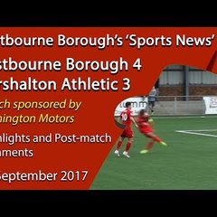 Eastbourne Borough 4 v 3 Carshalton Athletic