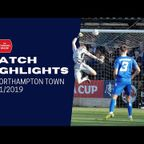 HIGHLIGHTS: Chippenham Town 0-3 Northampton Town | 2019/20 Emirates FA Cup