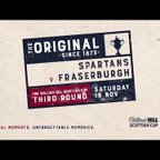 Spartans 1-2 Fraserburgh | William Hill Scottish Cup 2017-18 – Third Round