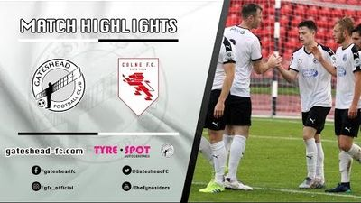 HIGHLIGHTS: Gateshead 5-0 Colne (19/10/19)