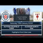 Sutton Coldfield Town v Glossop North End 18/01/20