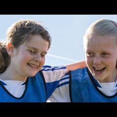 Girls talk about what playing football means to them