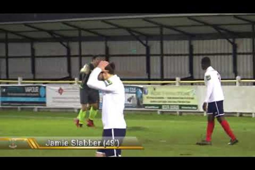 Goals from Witham Town v Grays Ath and sending off 2/12/17