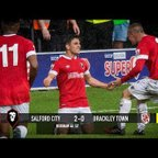 Salford City 2-0 Brackley Town - National League North 09/09