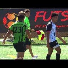 Highlights Okapi Wanderers Rugby FC U17  vs Wellington Wizards Rugby 02 24 2018
