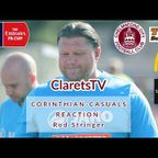 REACTION: Rod Stringer - Post Corinthian-Casuals (H) - 21/09/2019