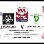 Stanningley v Dewsbury Celtic 16.08.17