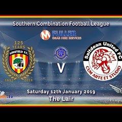 HIGHLIGHTS - Lingfield FC v Saltdean Utd - League - 12-01-2019
