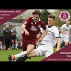 Chelmsford City 1 vs 2 Truro City - Extended Highlights