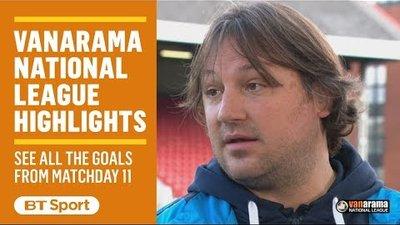 Vanarama National League Highlights Show   Matchday 11