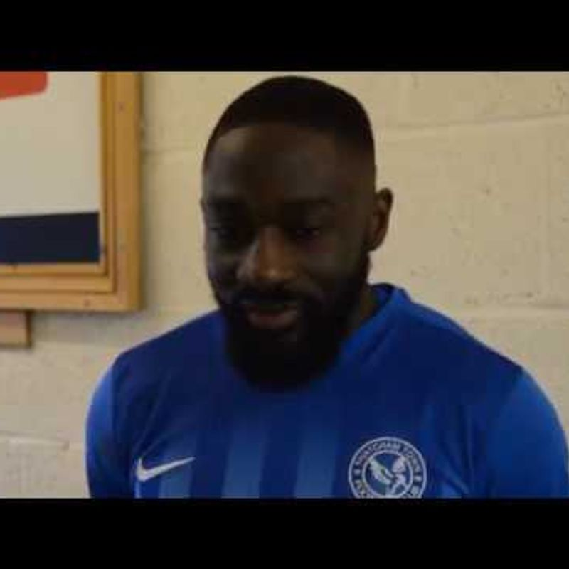 FA Vase Semi Final! Post Match Interview with Baboucarr Jarra