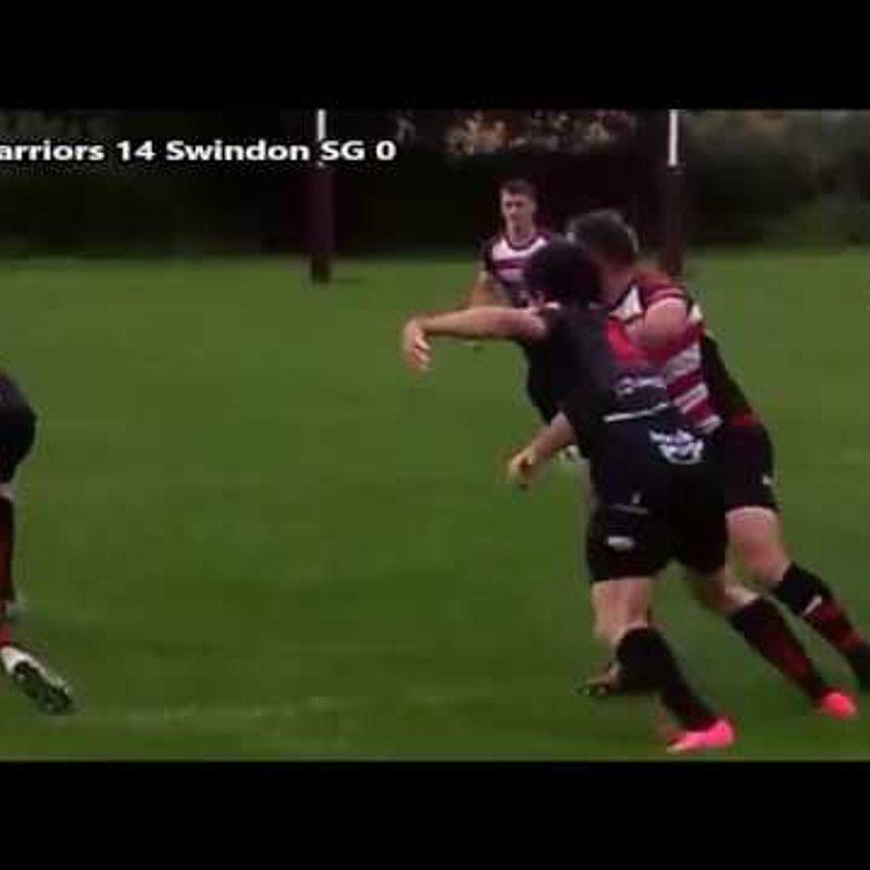 Gloucester Warriors v Swindon St George (South West Rugby League 2017)