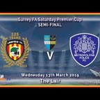 HIGHLIGHTS - Lingfield FC v Met Police Academy - Surrey Premier Cup Semi-Final - 13-03-19