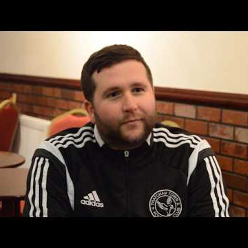 FA Vase! Thatcham Town FC vs Sevenoaks Town FC - Pre-Match Interview with Danny Robinson