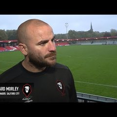Salford City 3-2 York City - Bernard Morley post-match interview