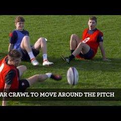 Coaching drill - Crab Football
