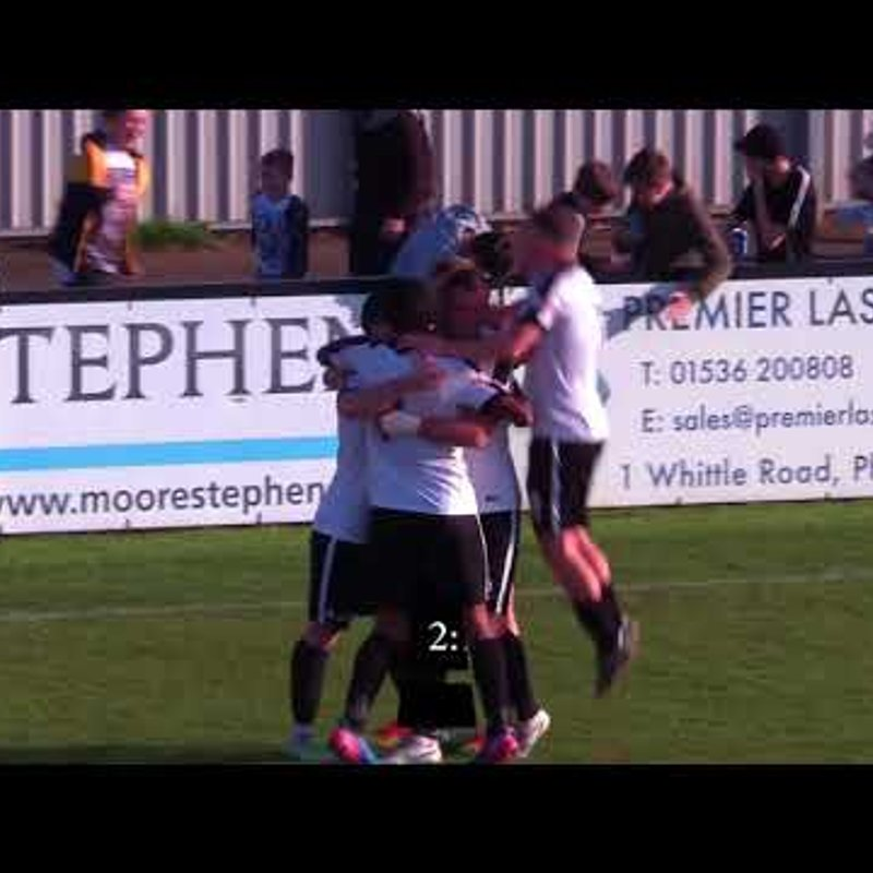 CTTV Highlights: Corby Town 2-1 Carlton Town: