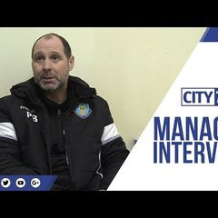 Managers Office    Interview    Phil Brown    Vs Nantwich Town F.C.