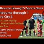 'Sports News': Eastbourne Borough 1 vs 3 Truro City – Vanaram National League South Highlights