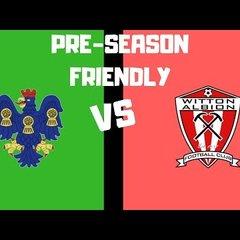 [NVTV] [Pre-Season Friendly] Witton Albion vs Northwich Victoria [GOALS]