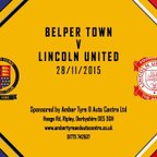 Belper Town 0 - 0 Lincoln United 28th November 2015 Highlights