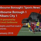 'Sports News': Eastbourne Borough 1 v 1 St Albans City – Vanarama National League South Highlights