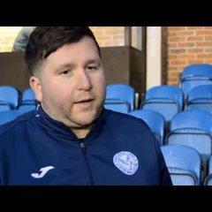 FA Vase Last 16! Danny Robinson Post-Match Interview!