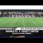 PITCHERO Widnes FC Vs Ossett United (22.02.20)
