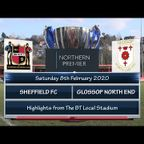 Sheffield FC v Glossop North End 08/02/20