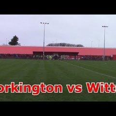 WORKINGTON REDS VS WITTON ALBION FA TROPHY!!!