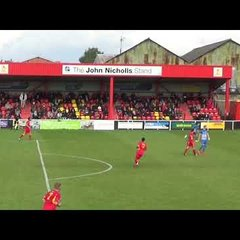 Banbury United 2 Thatcham Town 0 - FA Cup 16 Sep 2017- Match Highlights