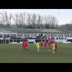 Banbury United v Weymouth - 18 Feb 2017 - Match Highlights
