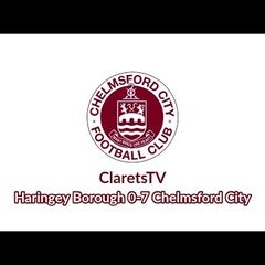 Pre-season Highlights: Haringey Borough 0-7 Chelmsford City