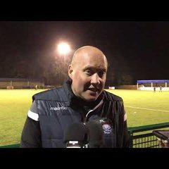 POST MATCH INTERVIEW - Oxford City 4-0 Chelmsford City