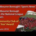 Eastbourne Borough Win National League's Community Club of the Year Award!