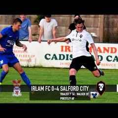 Irlam FC 0-4 Salford City - 16/17 Pre-season match