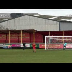 Banbury United U18s Goal and their penalty kicks against Bedworth