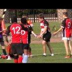 Dragons u14s v Richmond semi final 2011