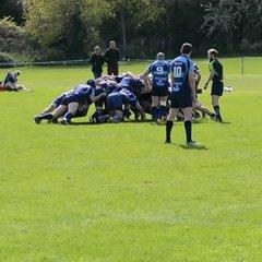 Beccs 1st XV v O.Gravesendians - Shirley's try 15/04/17