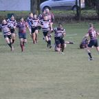 Beccs 3rd XV v Crawley 3rd XV - Tom Hamm try - 22/12/18