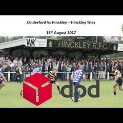 Cinderford Vs Hinckley - Tries