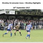 Hinckley Vs Leicester Lions - Highlights