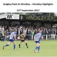 Sedgley Park Vs Hinckley - Highlights