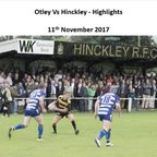 Otley Vs Hinckley - Highlights