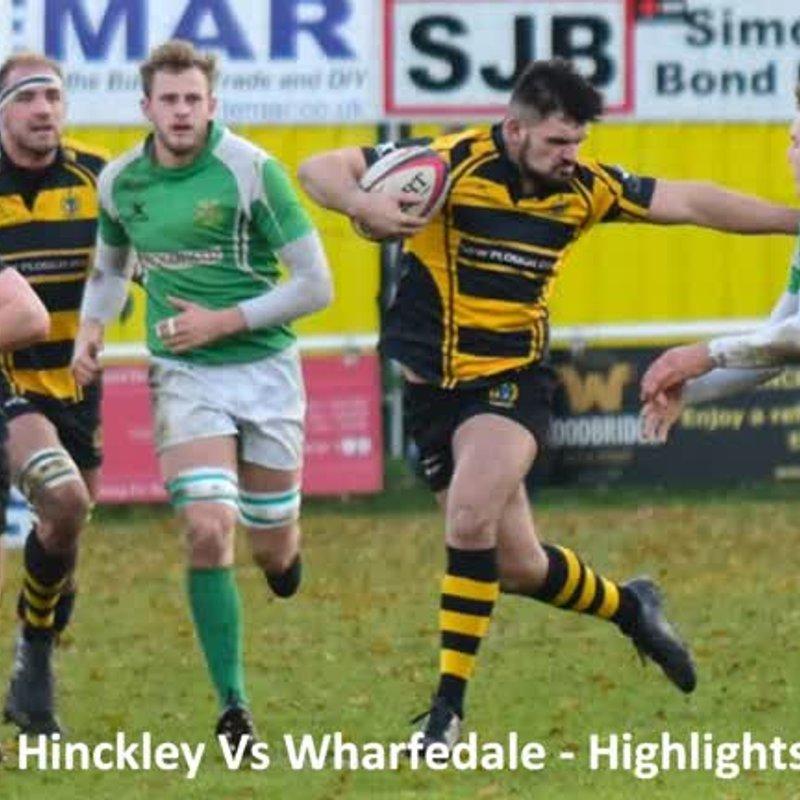 Hinckley Vs Wharfedale - Highlights